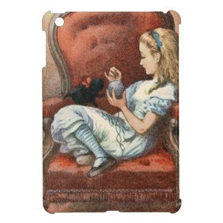Alice and her Kitten iPad Mini Cover