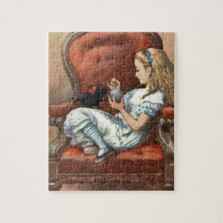 Alice and her Kitten Jigsaw Puzzle