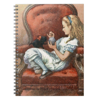 Alice and her Kitten Notebook