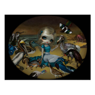 """Alice and the Audubon Birds"" Postcard"
