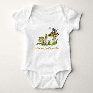 Alice and the Caterpillar Baby Bodysuit