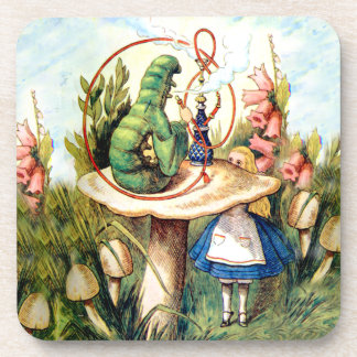 Alice and the Caterpillar in Wonderland Coaster