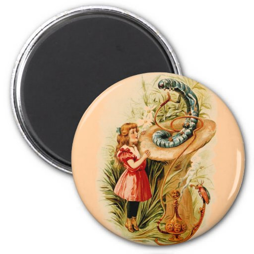 Alice and the Caterpillar Magnets