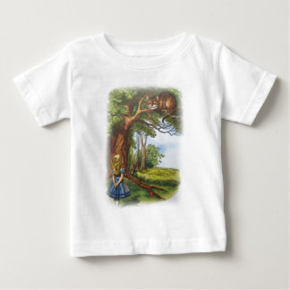 Alice and the Cheshire Cat Baby T-Shirt