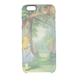 Alice and the Cheshire Cat Clear iPhone 6/6S Case