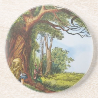 Alice and the Cheshire Cat Coaster