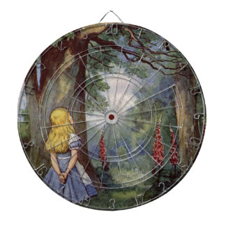 Alice and the Cheshire Cat Dartboard
