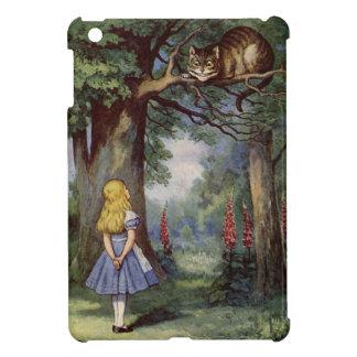 Alice and the Cheshire Cat iPad Mini Cases