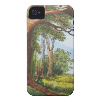 Alice and the Cheshire Cat iPhone 4 Covers