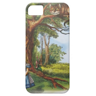 Alice and the Cheshire Cat iPhone 5 Case