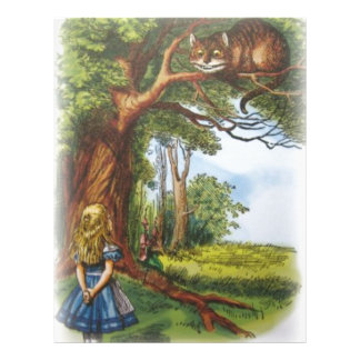 Alice and the Cheshire Cat Letterhead
