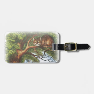 Alice and the Cheshire Cat Luggage Tag