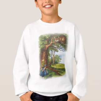 Alice and the Cheshire Cat Sweatshirt