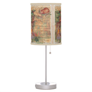 Alice and the Cheshire Cat Table Lamp