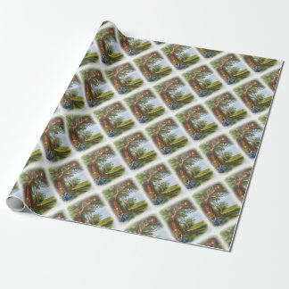 Alice and the Cheshire Cat Wrapping Paper