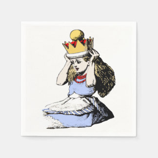 Alice and the Crown 1 Disposable Napkins