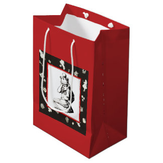 Alice and the Crown 2 Medium Gift Bag