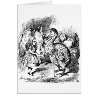Alice and the Dodo Card