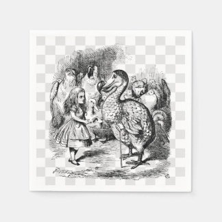 Alice and the Dodo Disposable Napkin