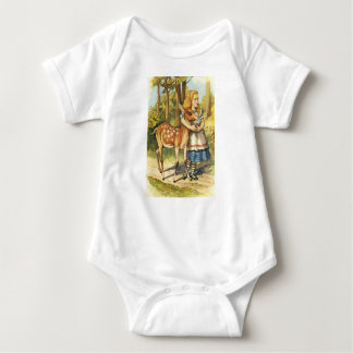 Alice and the Fawn Baby Bodysuit