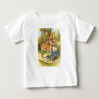 Alice and the Fawn Baby T-Shirt