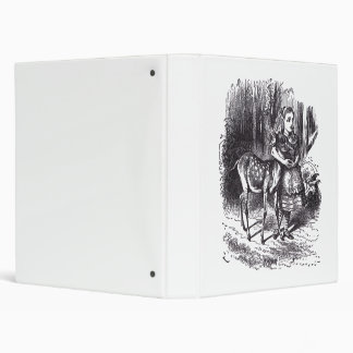 Alice and the Fawn Vinyl Binder