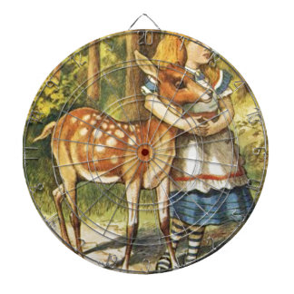Alice and the Fawn Dartboard