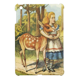 Alice and the Fawn iPad Mini Cover