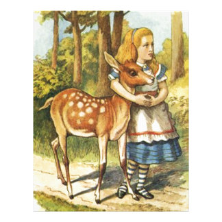 Alice and the Fawn Letterhead