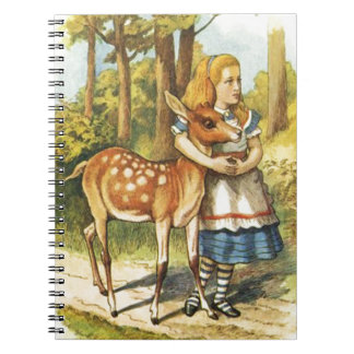 Alice and the Fawn Notebook