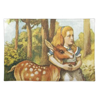 Alice and the Fawn Placemat
