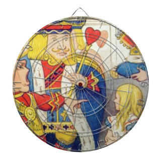 Alice and the Queen of Hearts Dartboard