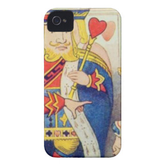 Alice and the Queen of Hearts iPhone 4 Case