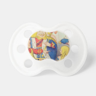 Alice and the Queen of Hearts Pacifier