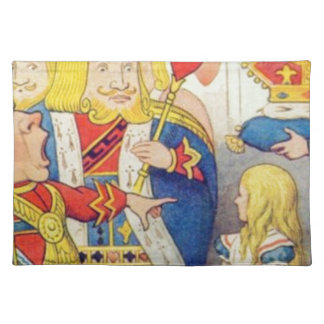 Alice and the Queen of Hearts Placemat