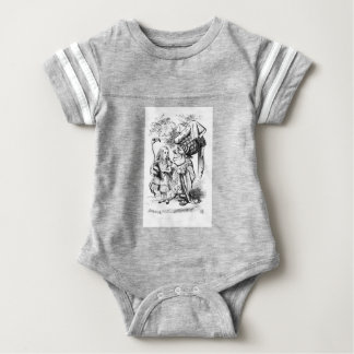 Alice and the Red Queen Baby Bodysuit