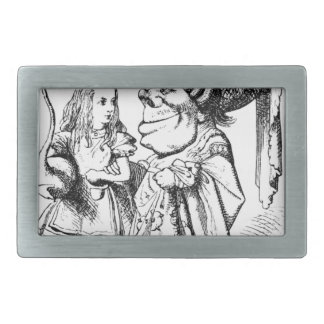 Alice and the Red Queen Belt Buckle