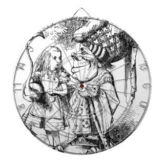 Alice and the Red Queen Dartboard