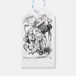 Alice and the Red Queen Gift Tags