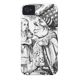 Alice and the Red Queen iPhone 4 Cover