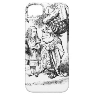 Alice and the Red Queen iPhone 5 Cases