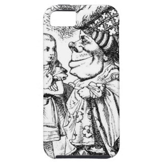 Alice and the Red Queen iPhone 5 Covers