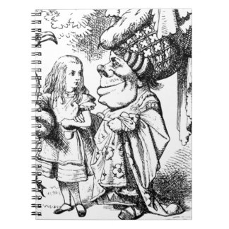 Alice and the Red Queen Notebook