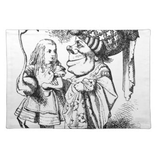 Alice and the Red Queen Placemat