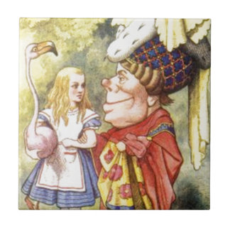 Alice and the Red Queen Tile