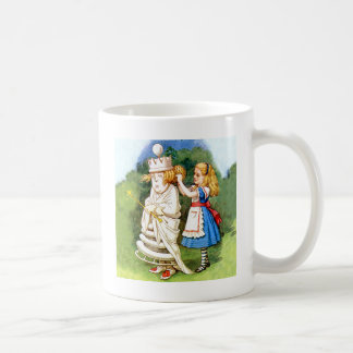 Alice and the White Queen Coffee Mug