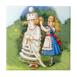 Alice and the White Queen Tile