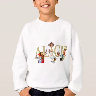 Alice and Wonderland and Friends Sweatshirt