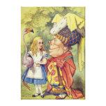 Alice avec la duchesse impression sur toile