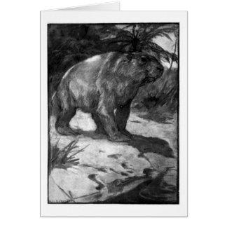 Alice B. Woodward: Diprotodon art card